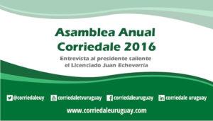 Asamblea Anual Corriedale 2016
