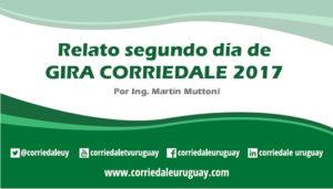 Relato segundo día Gira Corriedale 2017