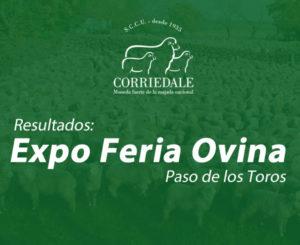 Resultados Expo Ovina Paso de los Toros